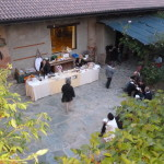 20 catering in cortile